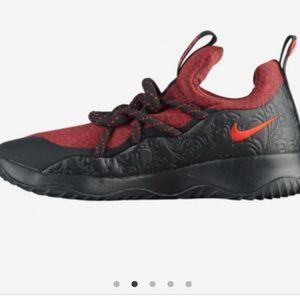 Nike city loop shoes red black 7